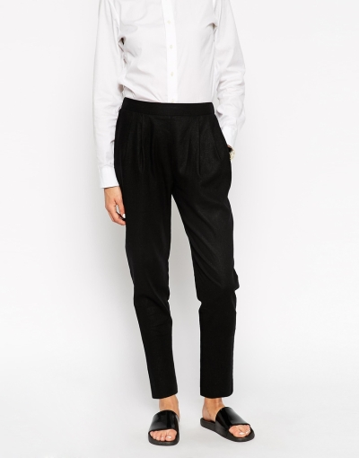 Tailored Jogger in Linen